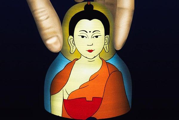 Иллюстрация Матрешка-Будда